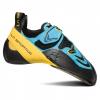 La Sportiva Futura Climbing Shoes - Men's, Blue/Yellow, 34