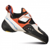 La Sportiva Solution Women's Climbing Shoes, White/Lily Orange, 33