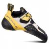 La Sportiva Solution Climbing Shoe - Men's, White/Yellow, 34