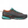La Sportiva TX4 Approach Shoes - Women's, Carbon/Aqua, 36