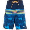 Oakley 19 Inches Striped Boardshort   Mens, Fathom, 30