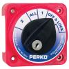 Perko Medium Duty Battery Selector Switch W/Key Lock Compact