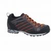 Hanwag Makra Low Gtx Mountaineering Boots   Men's, Asphalt/Orange, Medium, 10 Us