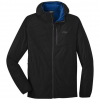Outdoor Research Refuge Air Hooded Jacket   Men's, Black, Small