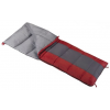 Wenzel Lakeside 40 Degree Sleeping Bag, Red/Gray, 78 In X 33 In