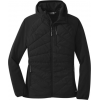 Outdoor Research Refuge Hybrid Hooded Jacket   Women's, Black, Extra Small
