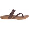 Chaco Lost Coast Leather Sandals   Women's, Cognac, 10 Us