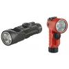 Streamlight Vantage 180 X USB Flashlight, 250 Lumens w/ 18650 USB battery, helmet bracket, Orange