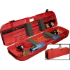 Mtm Mtm Ice Fishing Rod Box, Holds 8 Plus Accessories, Red