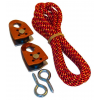 Trango Rock Prodigy Pulley Kit, Orange