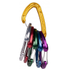 Wild Country Climbing Helium 3.0 Carabiners - 6 pack, Multi
