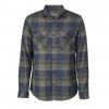 Royal Robbins Lost Coast Flannel Plaid Long Sleeve Shirt   Men's, Fiddlehead, Small