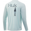 Huk Performance Fishing Huk Performance Fishing Bally Hoo Pursuit Long Sleeve T Shirt   Men's, Seafoam, Large