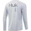 Huk Performance Fishing Huk Performance Fishing Circle Hook Pursuit Long Sleeve T Shirt   Men's, Plein Air, Large