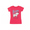 Big Agnes Mountain Goat T Shirt   Women's, Red Heather, Large