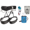 Black Diamond Momentum 4S Harness Package - Men's, Anthracite, Extra Small/Medium