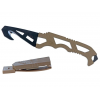 Gerber Crisis Hook Knife, Tan 499, Fixed Blade Knife