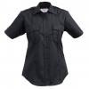 Elbeco Tek3 Short Sleeve Poly/Cotton Twill Shirt   Womens, 30 In, Midnight Navy