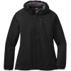 Outdoor Research Refuge Air Hooded Jacket   Women's, Black, Extra Small