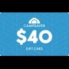 Campsaver Camp Saver 40 Dollar Email Gift Certificate