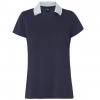 Oakley Enjoy Basic Golf Polo Short Sleeve   Women's, Fathom, Large
