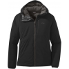 Outdoor Research Refuge Hooded Jacket   Women's, Black, Small
