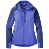 Outdoor Research Ferrosi Hooded Jacket, Women's, Batik/Baltic, XS