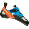 La Sportiva Otaki Climbing Shoes   Men's, Blue/Flame, 40.5, Medium