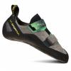 La Sportiva Aragon Climbing Shoes   Men's, Clay/Jasmine Green, 40.5, Medium