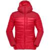 Norrona Falketind Down750 Hood   Women's, True Red, Large, 1870 20 1105 L