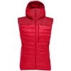 Norrona Falketind Down750 Vest   Women's, True Red, Large, 1872 20 1105 L