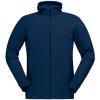 Norrona Falketind Warmwool2 Stretch Zip Hood   Men's, Indigo Night, Large, 1820 20 2295 L