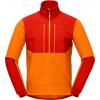 Norrona Trollveggen Hiloflex200 Jacket   Men's, Orange Popsicle, Large, 1601 20 5540 L
