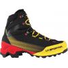 La Sportiva Aequilibrium St Gtx Mountaineering Shoes   Men's, Black/Yellow, 40, Medium