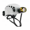 Petzl Trios Caving Helmet With Ultra Vario Headlamp White/Grey Size 1