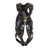 Petzl Full Body Harness, w/ANSI & CSA certifications, Yellow/Black, 26-30in waist