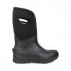Bogs Mens Bozeman Tall Insulated Winter Boots, Black, 10