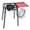 Camp Chef Pro 30 Single Burner Stove, Red/Black