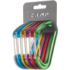 C.A.M.P. Photon Wiregate Carabiner Rackpack-Assorted-6 Pack