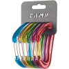 C.A.M.P. Nano 22 Carabiner Rackpack-Assorted-6 Pack