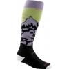 Darn Tough Vertical Yeti Over The Calf Ultra Light Sock   Women's Lime Medium