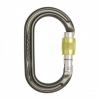 Dmm Dmm Ultra O Locking Carabiner Gunmetal Screw Lock