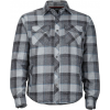 Marmot Arches Insulated Long Sleeve Flannel Shirt   Men's, Vintage Navy, M
