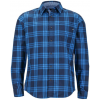 Marmot Cobblestone Long Sleeve Shirt   Men's  Dark Indigo Xx Large