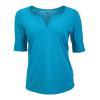 Marmot Cynthia Short Sleeve Shirt   Women's  Aqua Blue Small