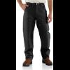 Carhartt Double Front Work Dungaree   Men's, Black, 30 Inseam, 42 Waist