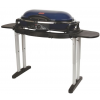 Coleman Roadtrip Lx Propane Grill W/ Collapsible Stand, 20,000 Btu, Blue / Black, 285 Sq In Cooking Area