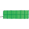 Coleman Cuboid Accordion Self Inflating Vertical Camp Pad, Green, Inflated   72 X 24 X 1.5 In