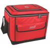 Coleman 40 Can Collapsible Soft Cooler, Red, Fully Expanded   14 X 11.4 X 12.3 In