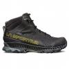 La Sportiva Stream Gtx Hiking Boots   Men's, Black/Yellow, 40.5